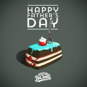 father day fathersday vw bulli volkswagen happy cake papa split