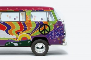 Affiche combi peace love 800x534 be combi - Affiche combi volkswagen ...