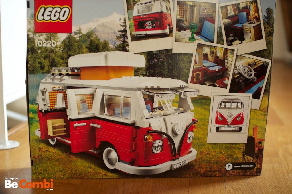 Combi Split Westfalia 1962 Lego