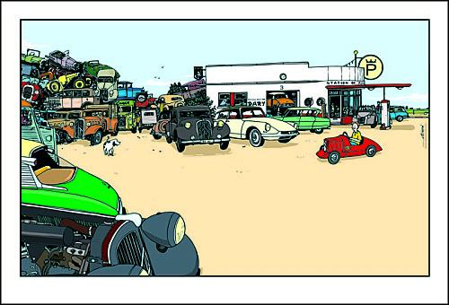 Affiche-Garage-de-la-plage