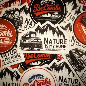 vwcamper becombi stickers sticker baywindow westfalia vanlife