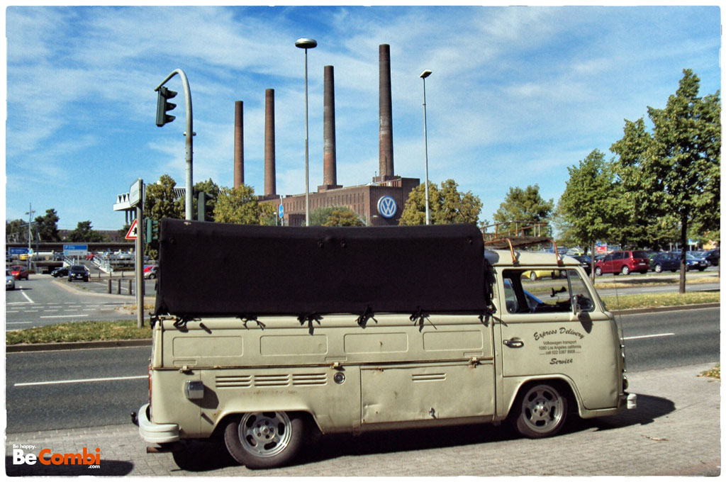 Le Bay Window pick-up simple cab 1977 de Med