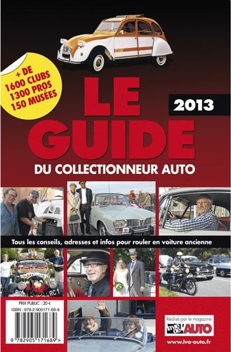 Le Guide du Collectionneur Auto 2013