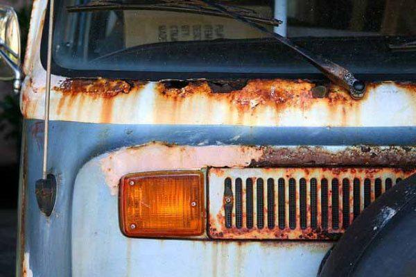 La rouille, l'ennemi n°1 du VW Combi