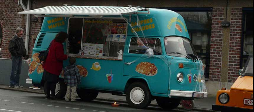Combi Food Truck Glaces