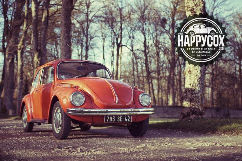 Notre VW 1302 orange de 1971