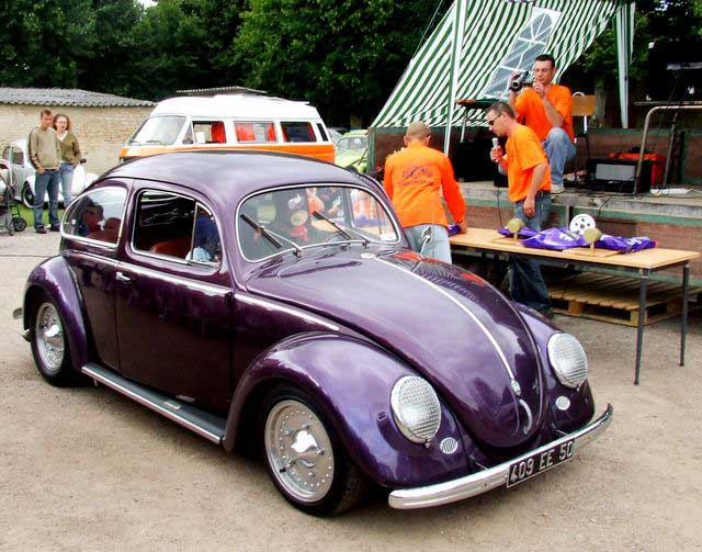 VW Cox Oval 1953 de Fred