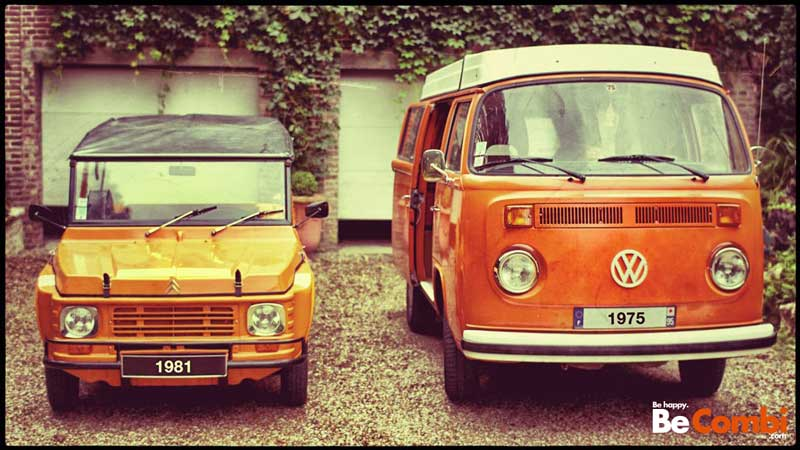 Mehari et Combi VW