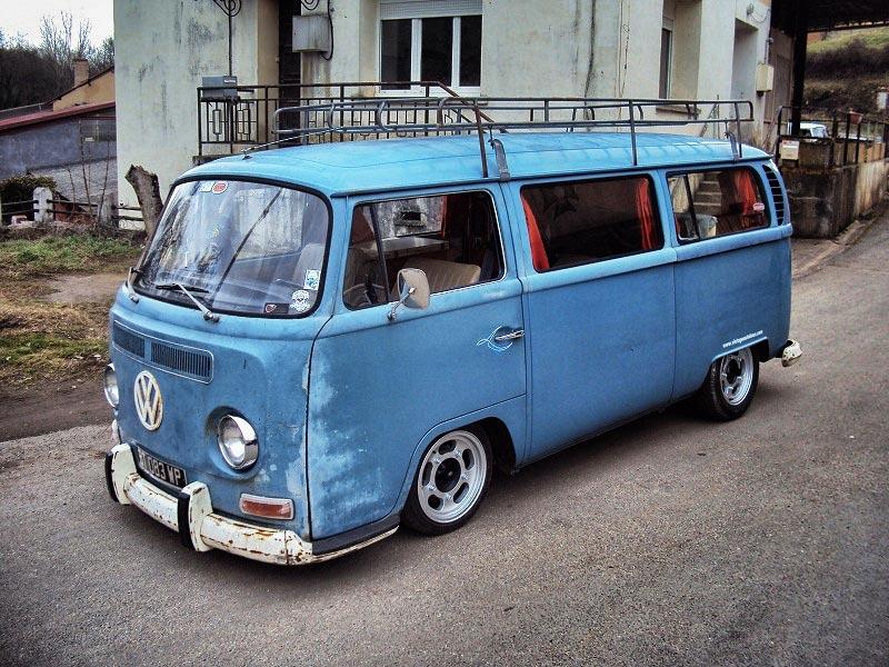 le VW Combi Microbus 1969 de Niko