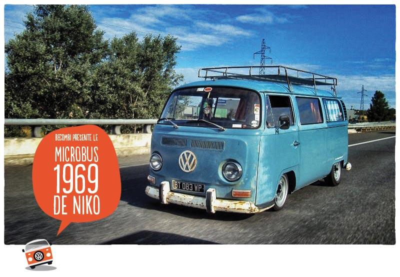 Le VW Microbus 1969 de Niko