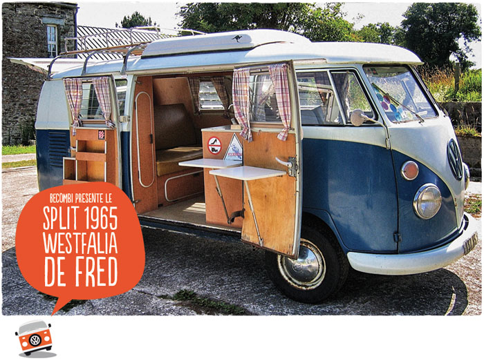 le split westfalia 1965 de fred be combi. Black Bedroom Furniture Sets. Home Design Ideas