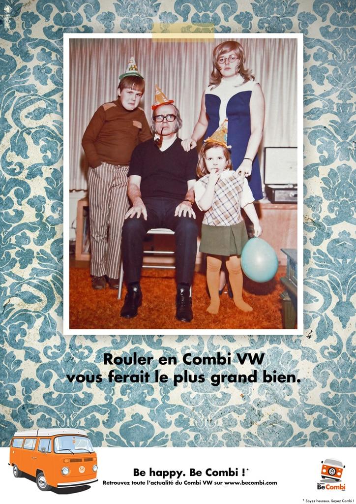 Campagne Pub VW Combi - BeCombi
