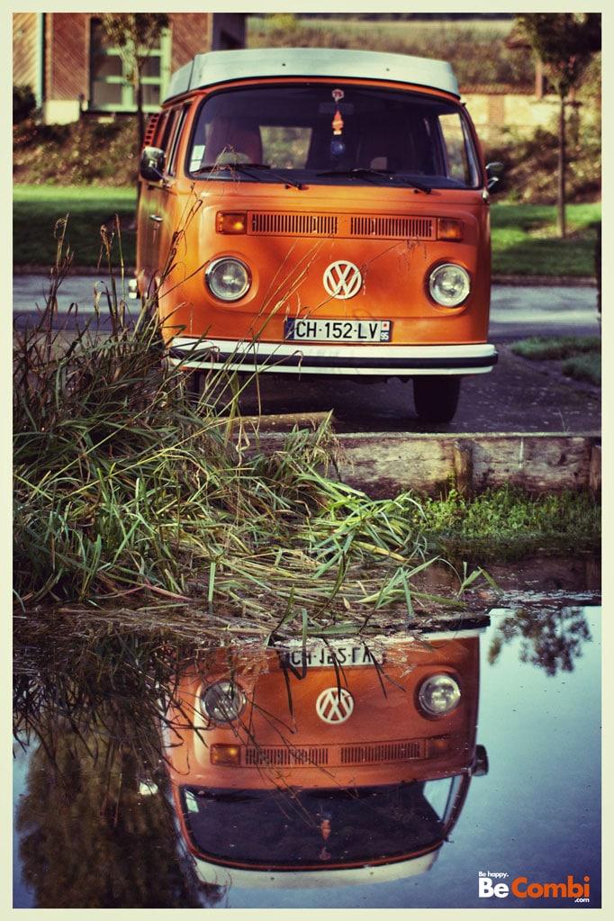 Concours photo VW Camper - Au fil de l'eau