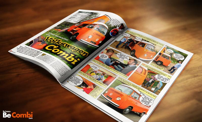 Article VW Combi Westfalia - Auto Plus Classiques