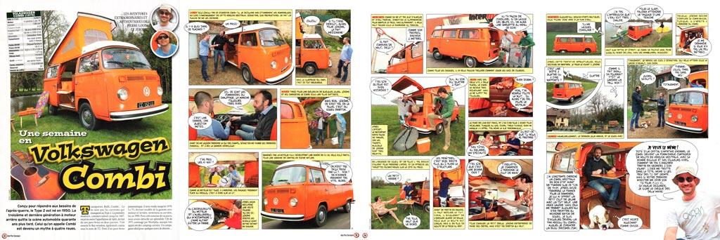 Article Vw Combi - Auto Plus Classiques