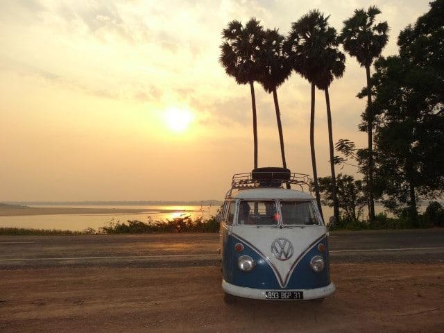 Mekong River Cambodge