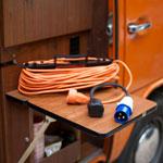 Rallonge et adaptateur camping - Check-list VW Camper
