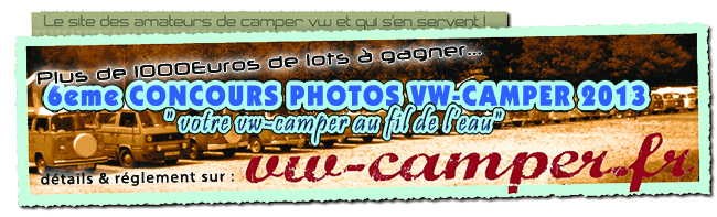 Concours Photo VW-Camper