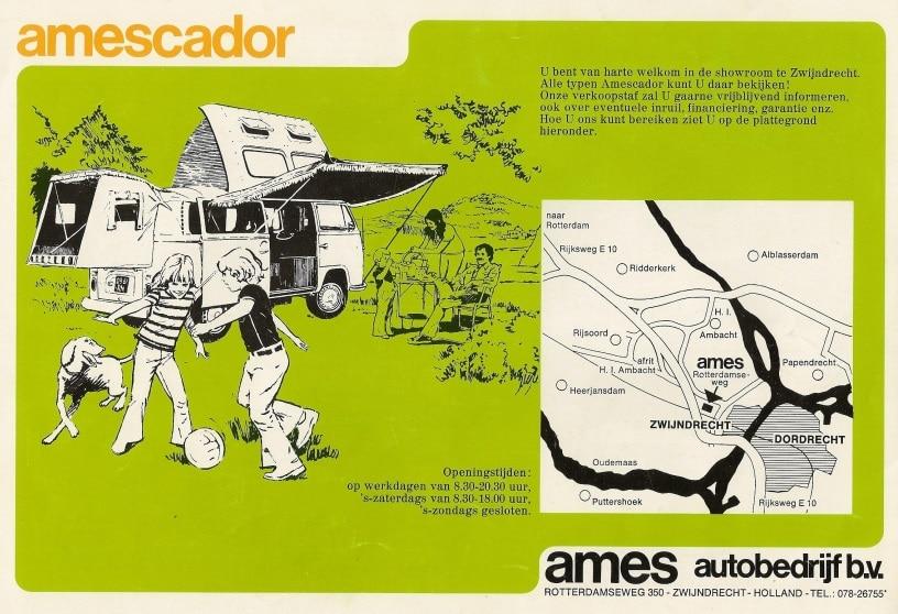 Amescador Publicité Ames Pays Bas