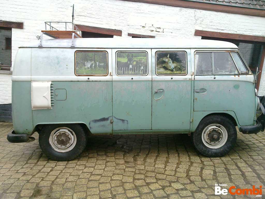 Le VW Split 11 fenêtres '63 de Philippe