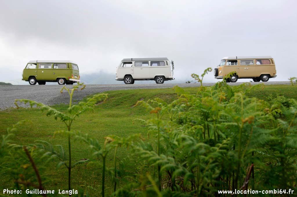 Ici, là-bas et partout | Location de VW Combi dans le 64