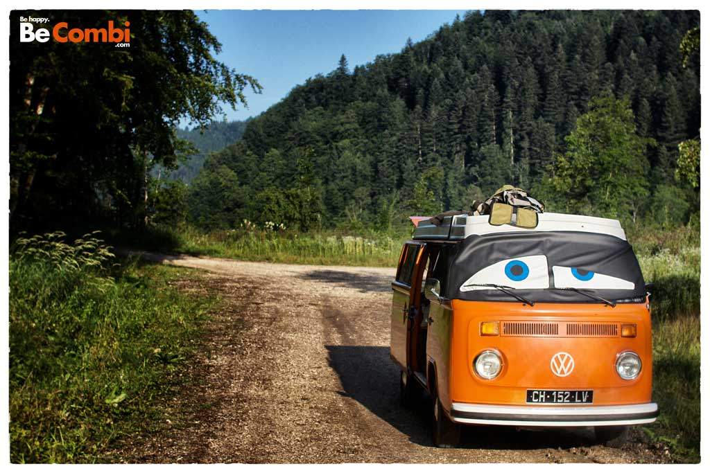 Fishing Trip en VW Combi | BeCombi