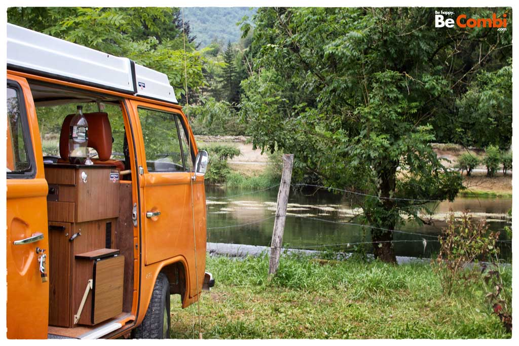Fishing Trip en VW Combi | BeCombi