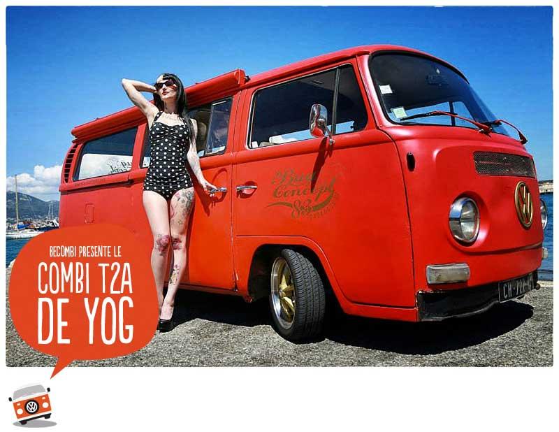 Le VW Combi T2A de YOG