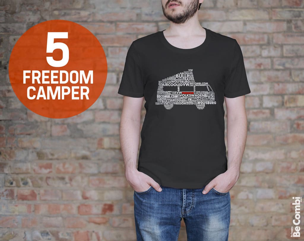 T-shirt BeCombi n°5 - Freedom Camper