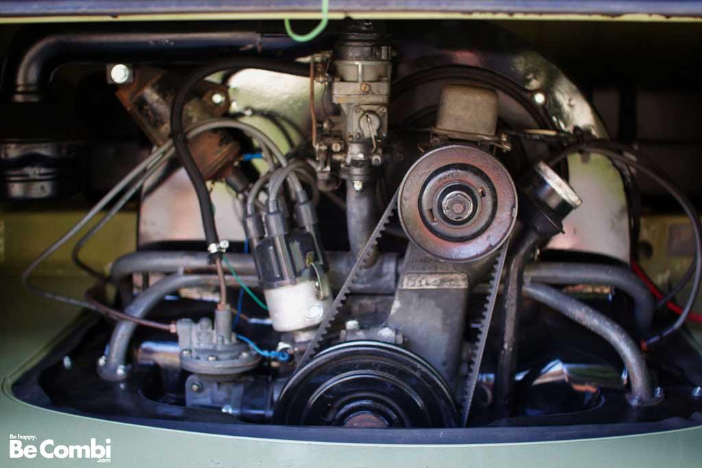 VW Combi Split 11 fenêtres 1959 de Jérôme | BeCombi