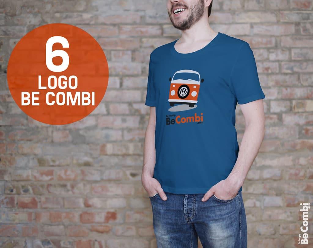 T-shirt BeCombi n°6 - Logo BeCombi
