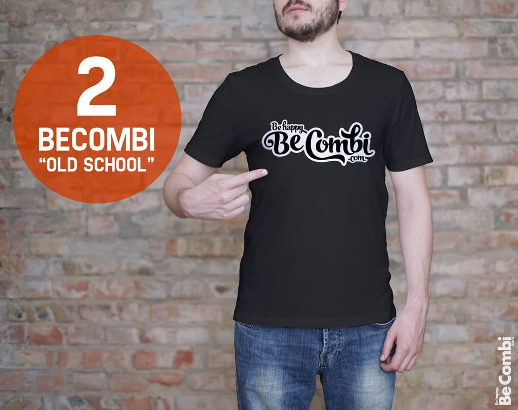 T-shirt BeCombi n°1 - BeCombi Old School