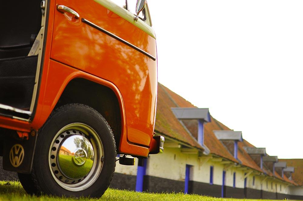 VW Bus Deluxe de Belles Echappées | BeCombi