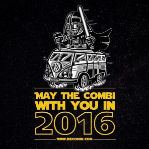 vw combi bulli 2016 starwars becombi vanlife