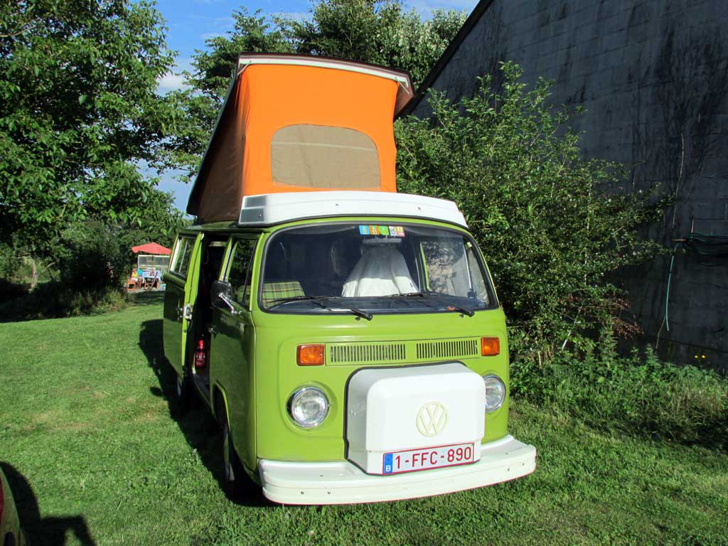 Popybulle Camper Westfalia Berlin 1979 | BeCombi