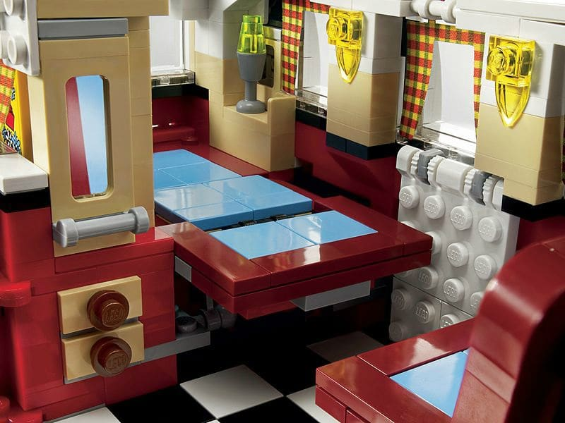 Un combi split en lego be combi for Interieur westfalia