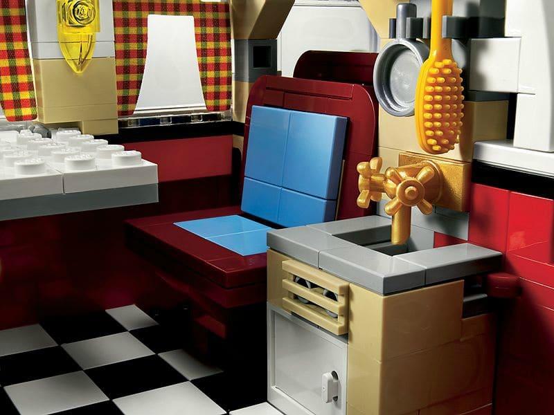 Combi Split Lego Intérieur Westfalia Cuisine