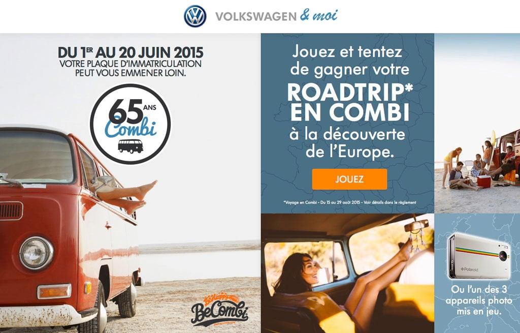 Partenariat BeCombi et Volkswagen & Moi