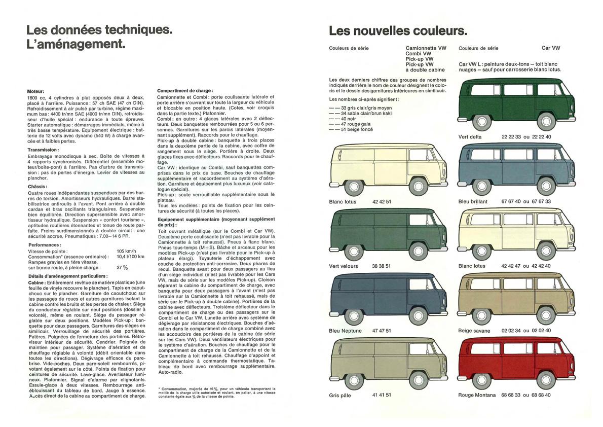 Voici le nouveau - Documentation T2a 1968-21