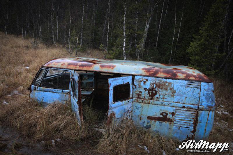 Le sauvetage d'un VW Barndoor tôlé de 1951 par Florian | Be Combi