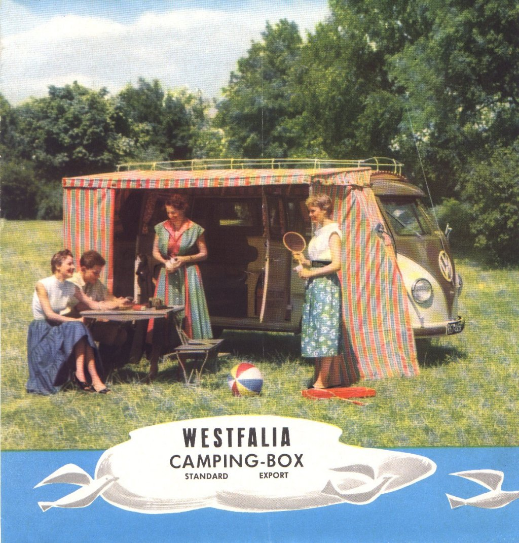 Brochure Westfalia CampingBox 1955 | Be Combi