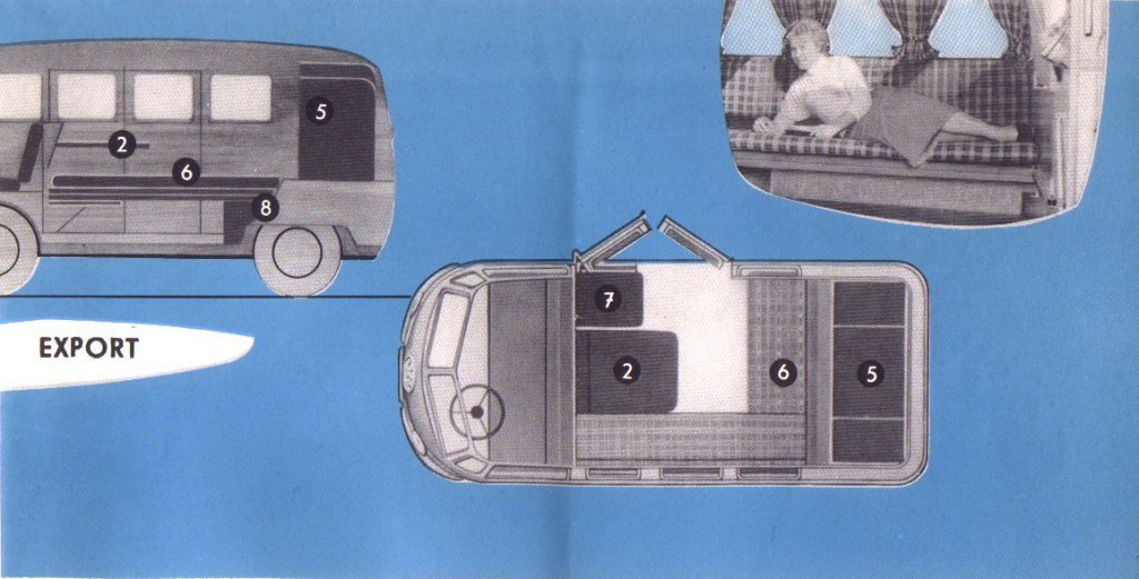 Brochure Westfalia Camping Box 1955 | Be Combi