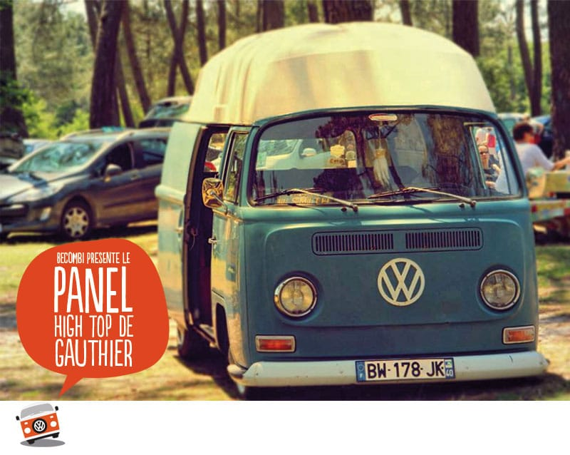 Le Panel High Top 1971 de Gauthier| Be Combi
