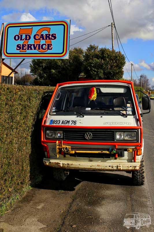 Baudouin chez Old Car Service 76 | Be Combi