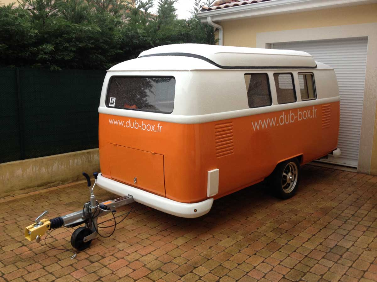 La caravane rétro Dub Box arrive en France !   Be Combi