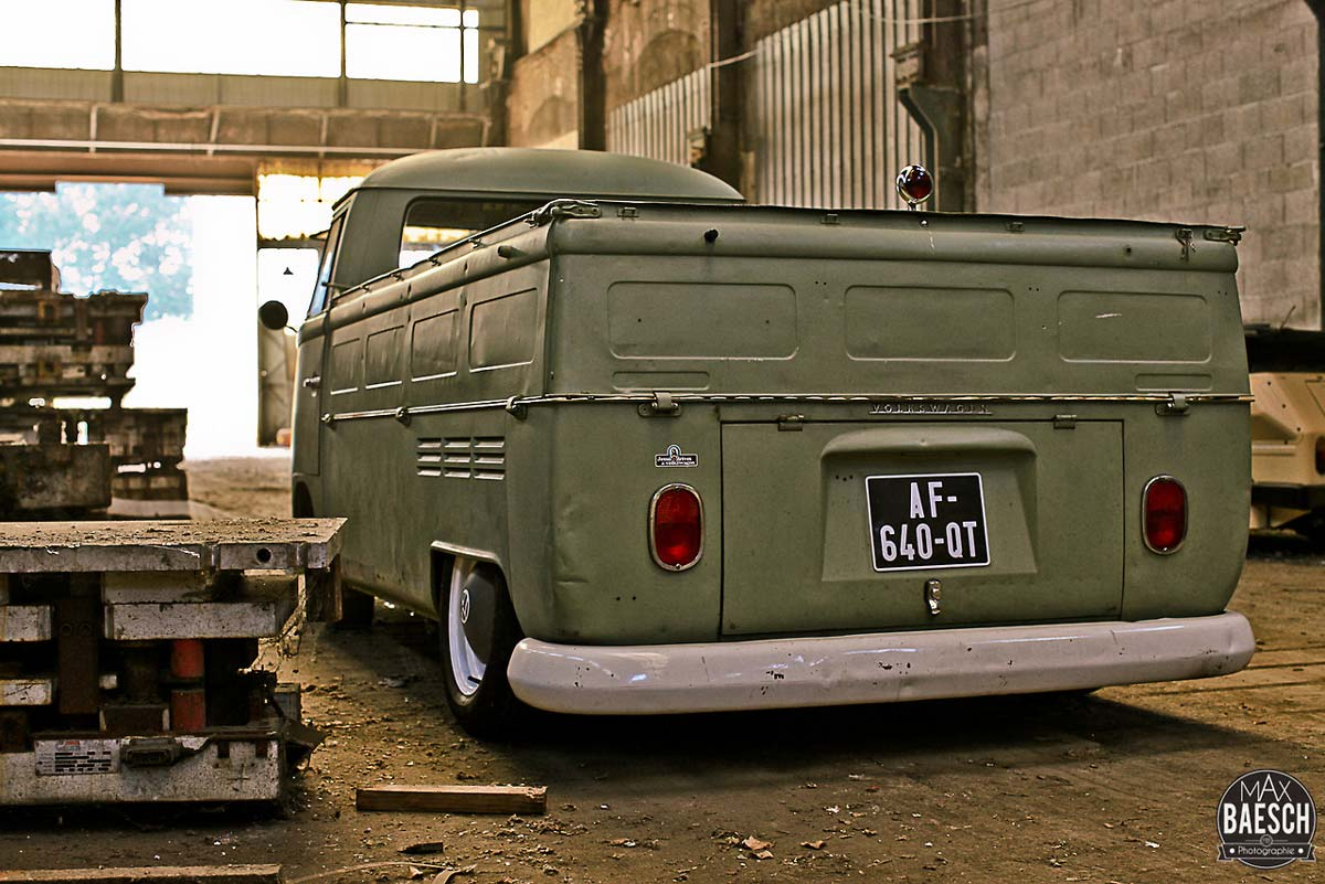 VW Split Simple Cab de Ludo par Max Baesch | Be Combi