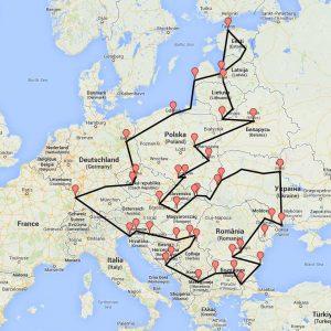 Les étapes du Bulli Tour Europa | Be Combi