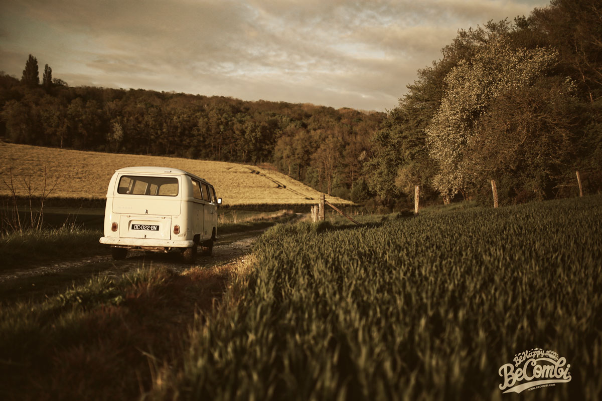 Happy VW Combi 1968 | BeCombi