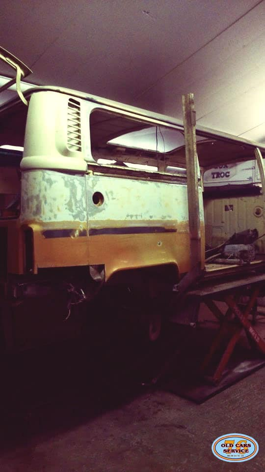 Baudouin chez Old Cars Service 76| BeCombi