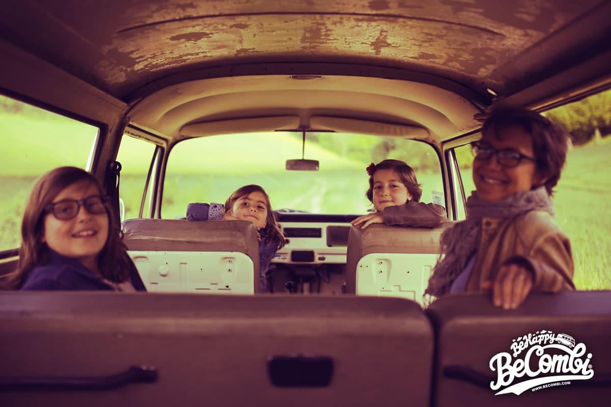 La Happy VW Combi Family   BeCombi
